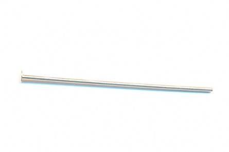 Head Pin - Sterling Silver (1.5 Inches, 20 Gauge)