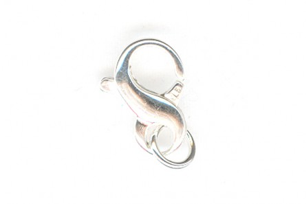 Sterling Silver Infinity / Figure 8 Lobster Clasp