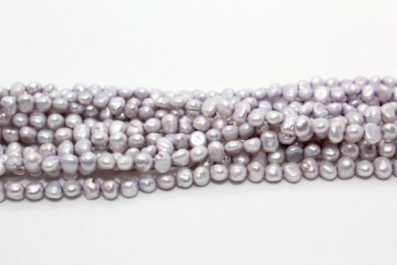 Irregular Potato Freshwater Pearls - Lavender