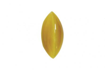 Tiger Eye (Natural) AA Grade Marquise Cabochon - Honey Gold