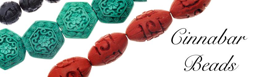 Cinnabar Beads Banner