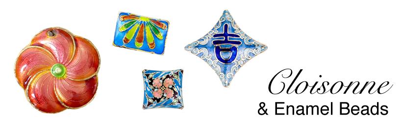 Enamel Beads Banner