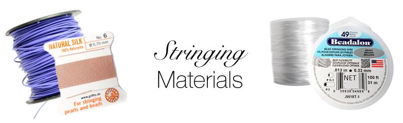 Stringing Materials Banner