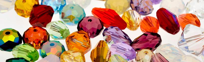 Swarovski Crystal Rounds Banner
