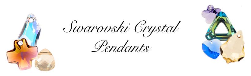 Swarovski Crystal Pendants Banner