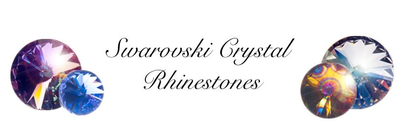Swarovski Crystal Rhinestones Banner
