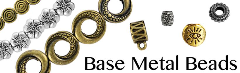 Base Metal Beads Banner