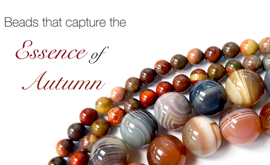 Shop Fall Inspired Beads, Charms, Wire, and more!
