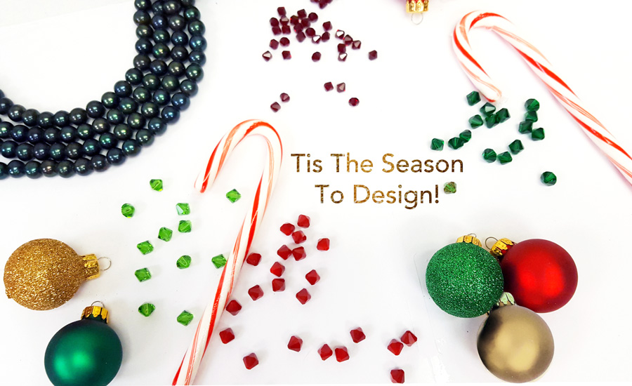 Tis The Season To Design With Swarovski Crystal Elements