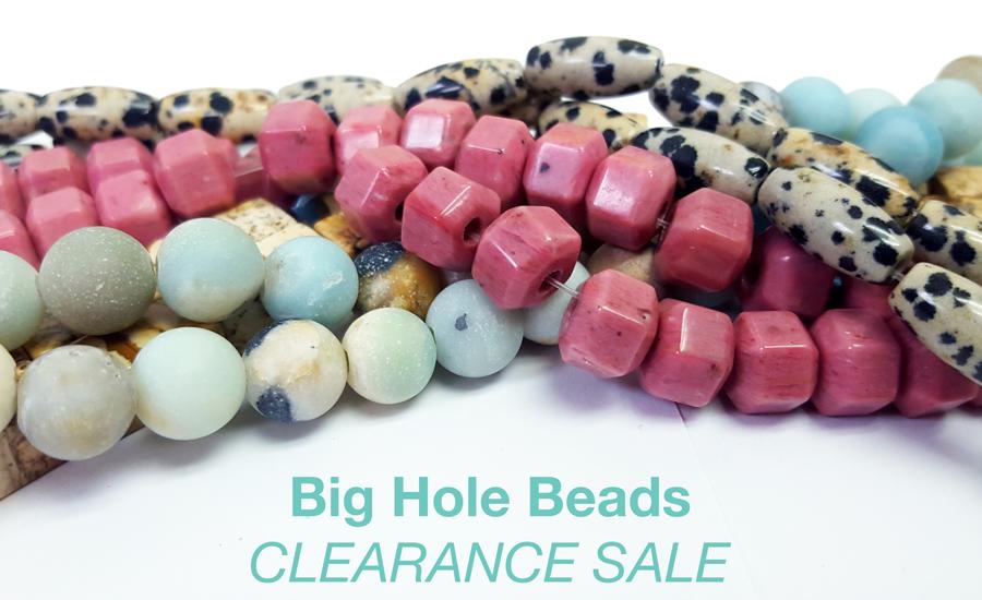 Big Hole Bead Clearance Sale