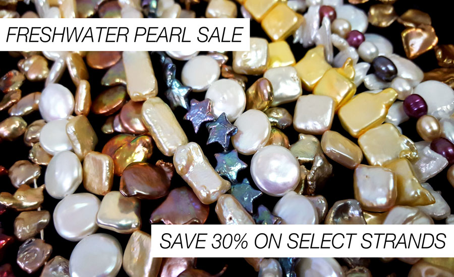 Shop our freshwater pearl sale!