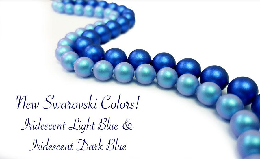 New Swarovski Crystal Pearl Colors