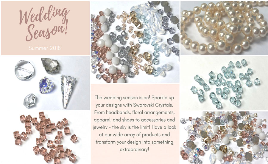 Shop Swarovski Crystal for all of your Wedding Accessories!