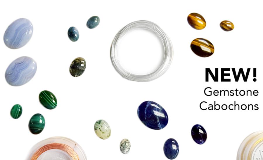 Shop gemstone Cabochons at JBCBeads.com!